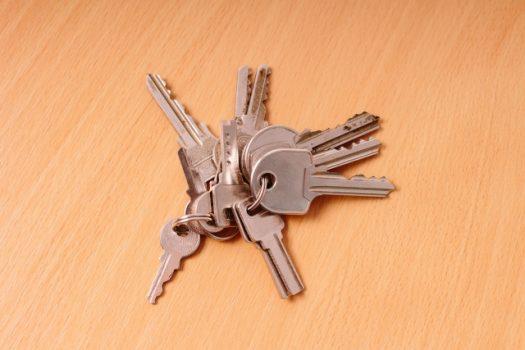 現在使われている鍵の種類を紹介