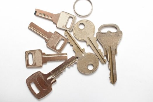 1.鍵を作り過ぎない