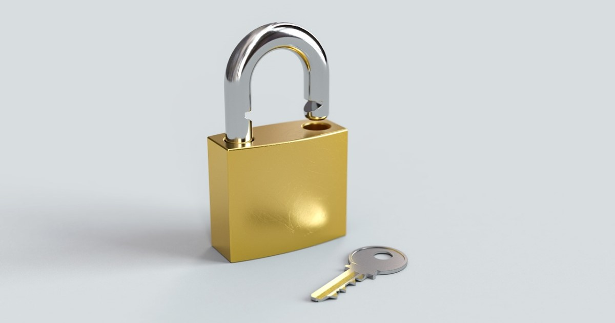 南京錠の鍵をなくした